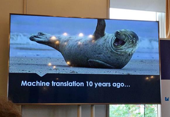 ukážka z prednášky o budúcnosti prekladateľského odvetvia