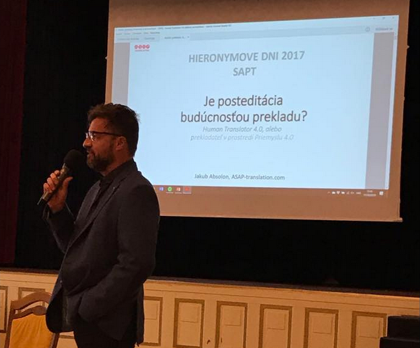Zábez z prednášky Jakuba Absolona o posteditovaní