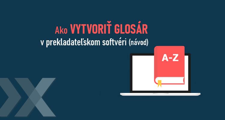 ilustrácia notebooku s teminologickým slovníkom - glosárom