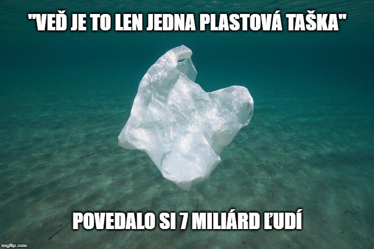 more znečistené plastom