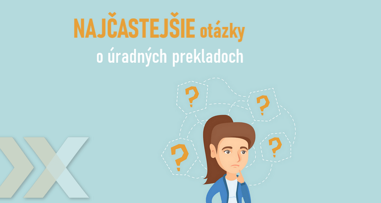 informácie o úradných prekladoch