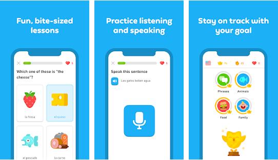 Aplikácia na učenie sa jazykov Duolingo