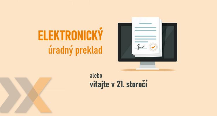 Elektronický úradný preklad Lexika