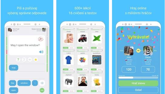 Aplikácia na učenie sa jazykov LinGo Play