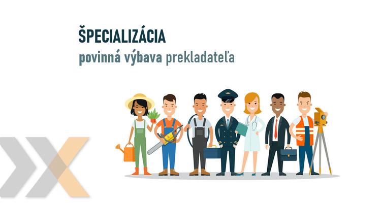Špecializovaní prekladatelia - Lexika