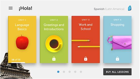 Aplikácia na učenie sa jazykov Rosetta Stone
