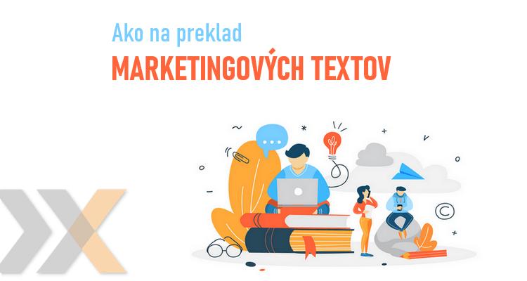 kreatívna úprava textu pri marketingovom preklade