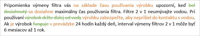 preklad po jazykovej korektúre rodeným hovoriacim